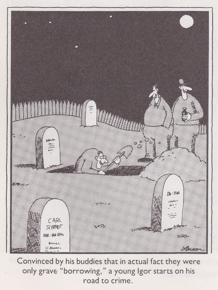 Far Side Comic Igor