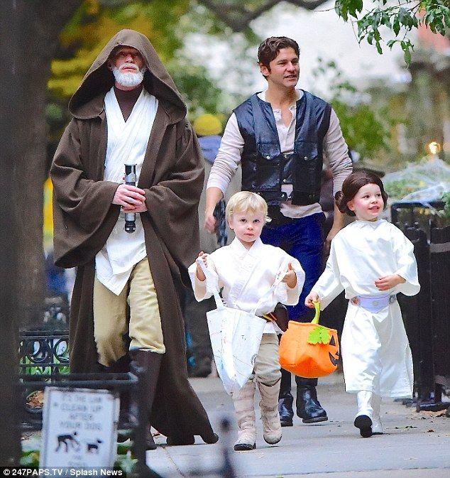 Neil Patrick Harris and Snooki dress families as Star Wars