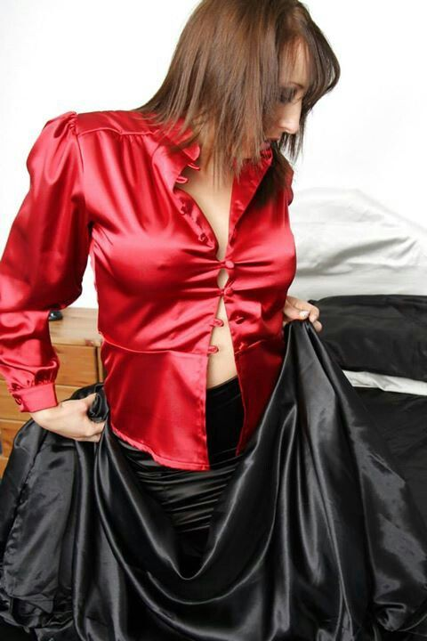 Fetish Blouse Satin 66