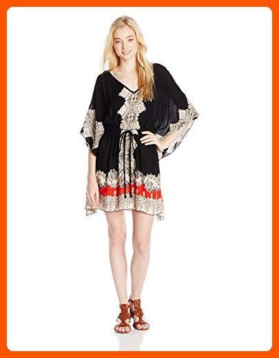 0f387c67cbf Angie Juniors Printed Kaftan Dress