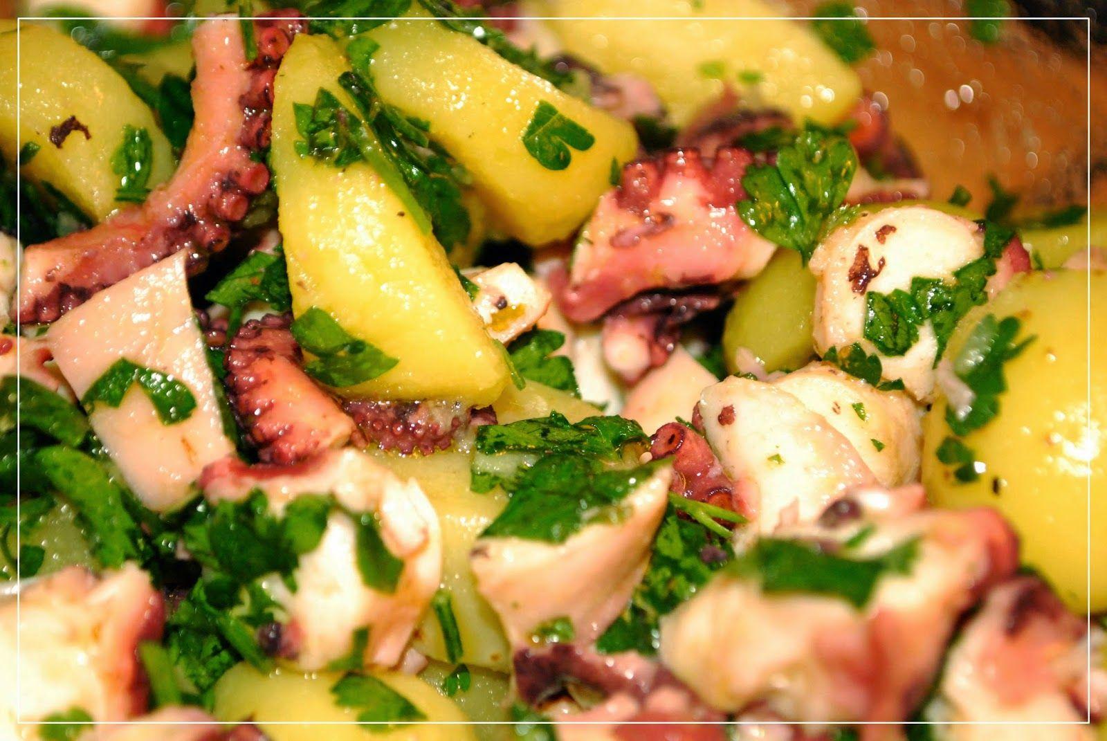 Kochen mit San Luigi: Tintenfischsalat mit Kartoffeln