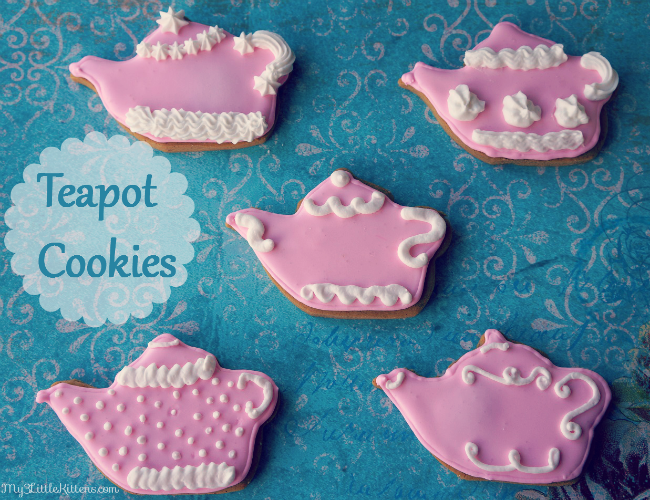 Gingerbread Teapot Cookies from @my3lilkittens