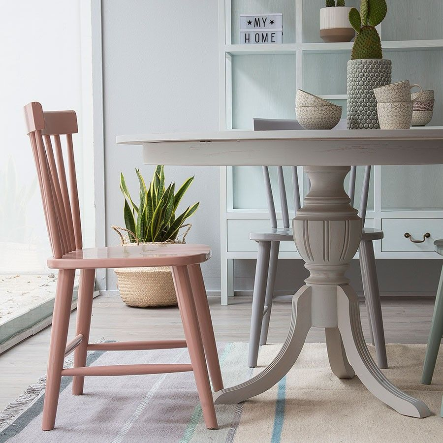 Rass silla blanca   Mesa redonda, Mesas y Comedores