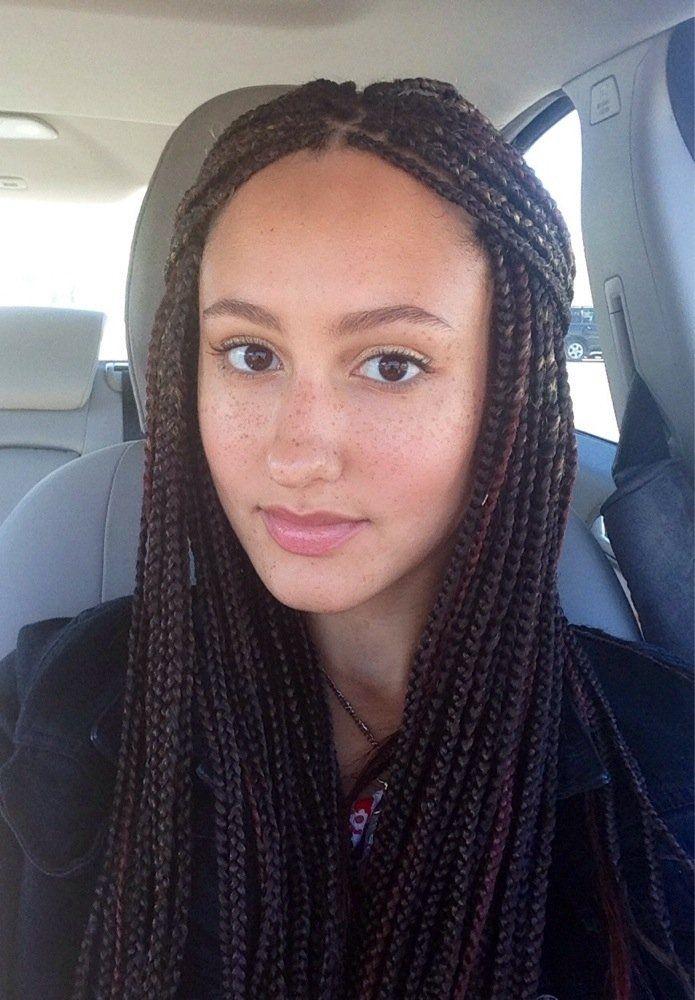 Épinglé par Johanna Vilaça sur box braids en 2019 Tresse
