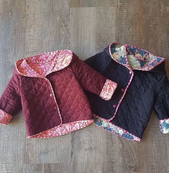 Quilted Hooded Jacket North Patterns Kids Clothes Patterns Baby Jackets Pattern Childrens Jacket
