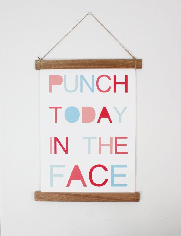Cheeky prints for people who hate inspirational quotes