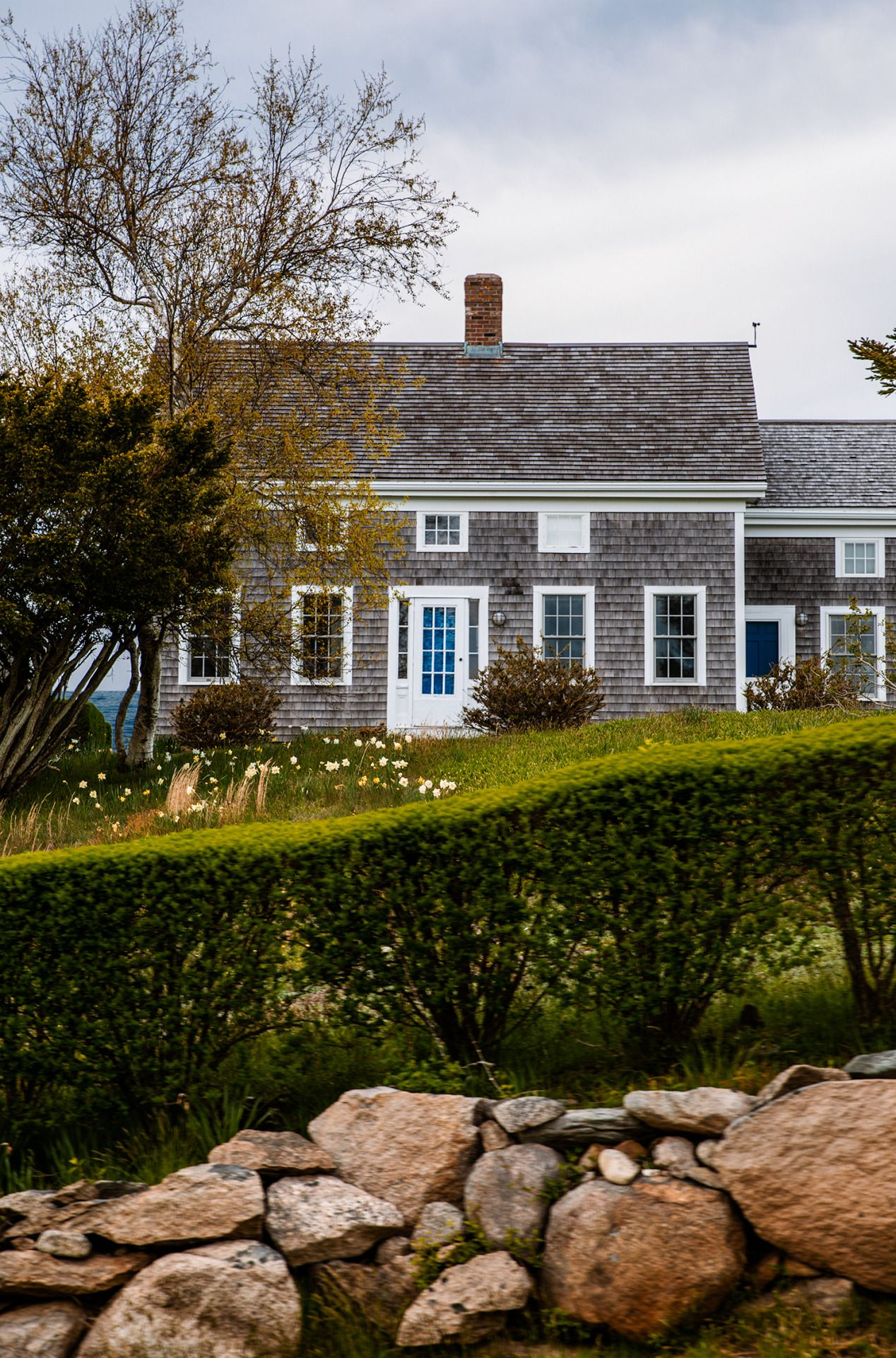 Cottage life new england style homes beautiful beach