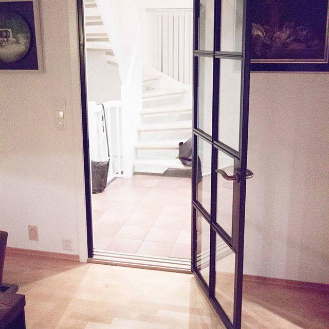 See clearly! Order it now. #Dominiusas # glass door # steel …