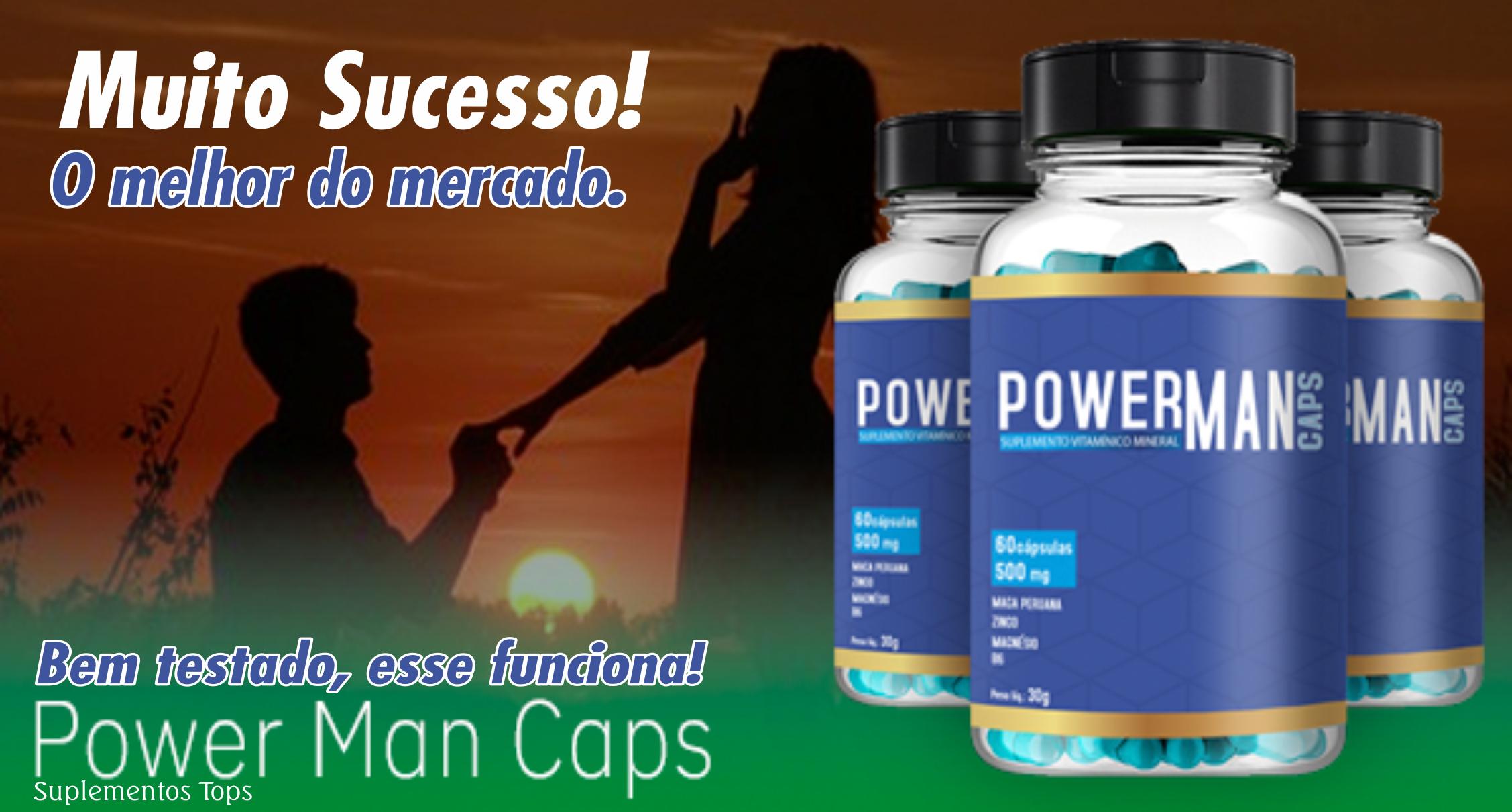 Power Man Caps funciona? (com imagens)   Man, Nivel de ...