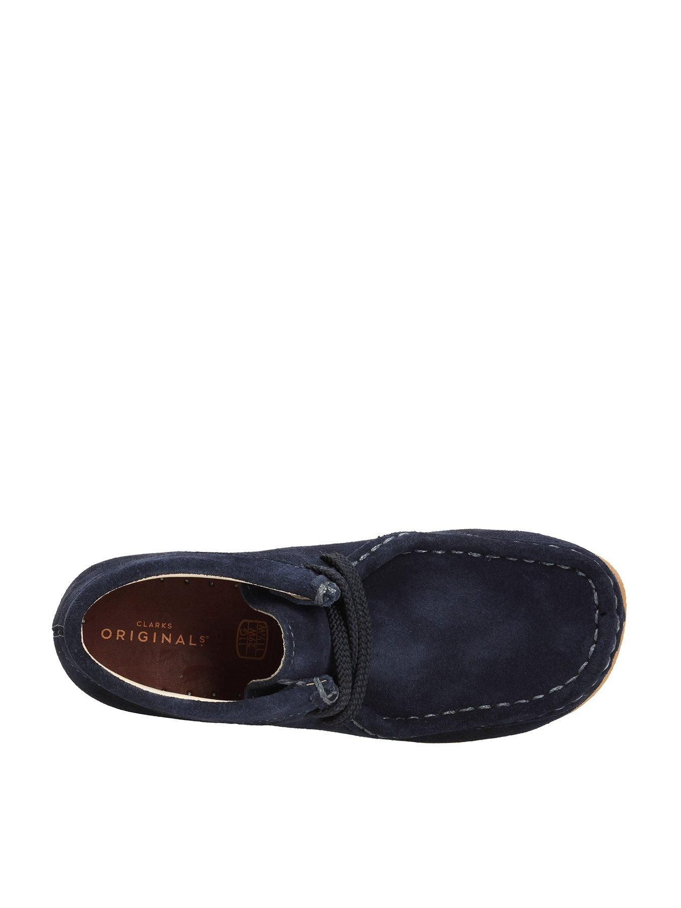Clarks Originals Mens Jink Navy Suede Lace up Shoes Various Sizes