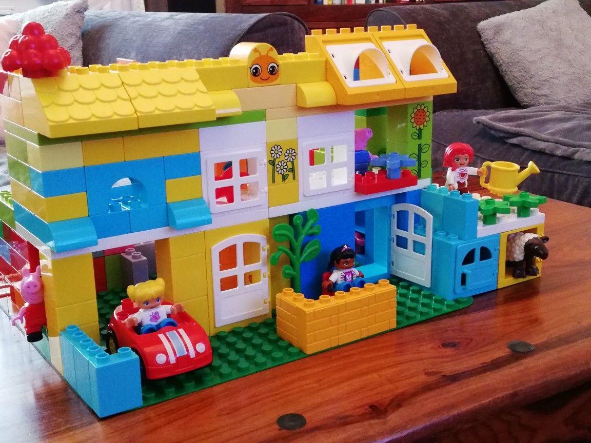 Lego duplo house playing pinterest kreativ und ideen