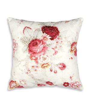 Waverly 16 X 16 Norfolk Rose Decorative Pillow Floral Decor Pillows Pillows Decorative Throw Pillows