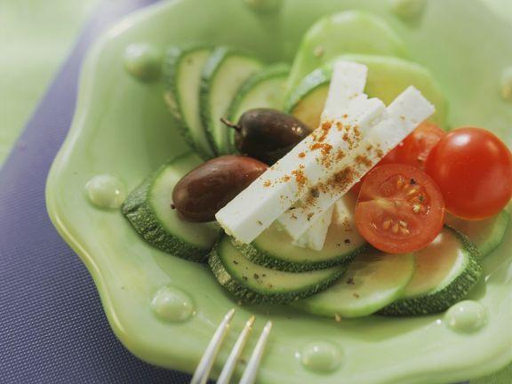 Gemüse mit Schafskäse ist ein Rezept mit frischen Zutaten aus der Kategorie Fruchtgemüse. Probieren Sie dieses und weitere Rezepte von EAT SMARTER!