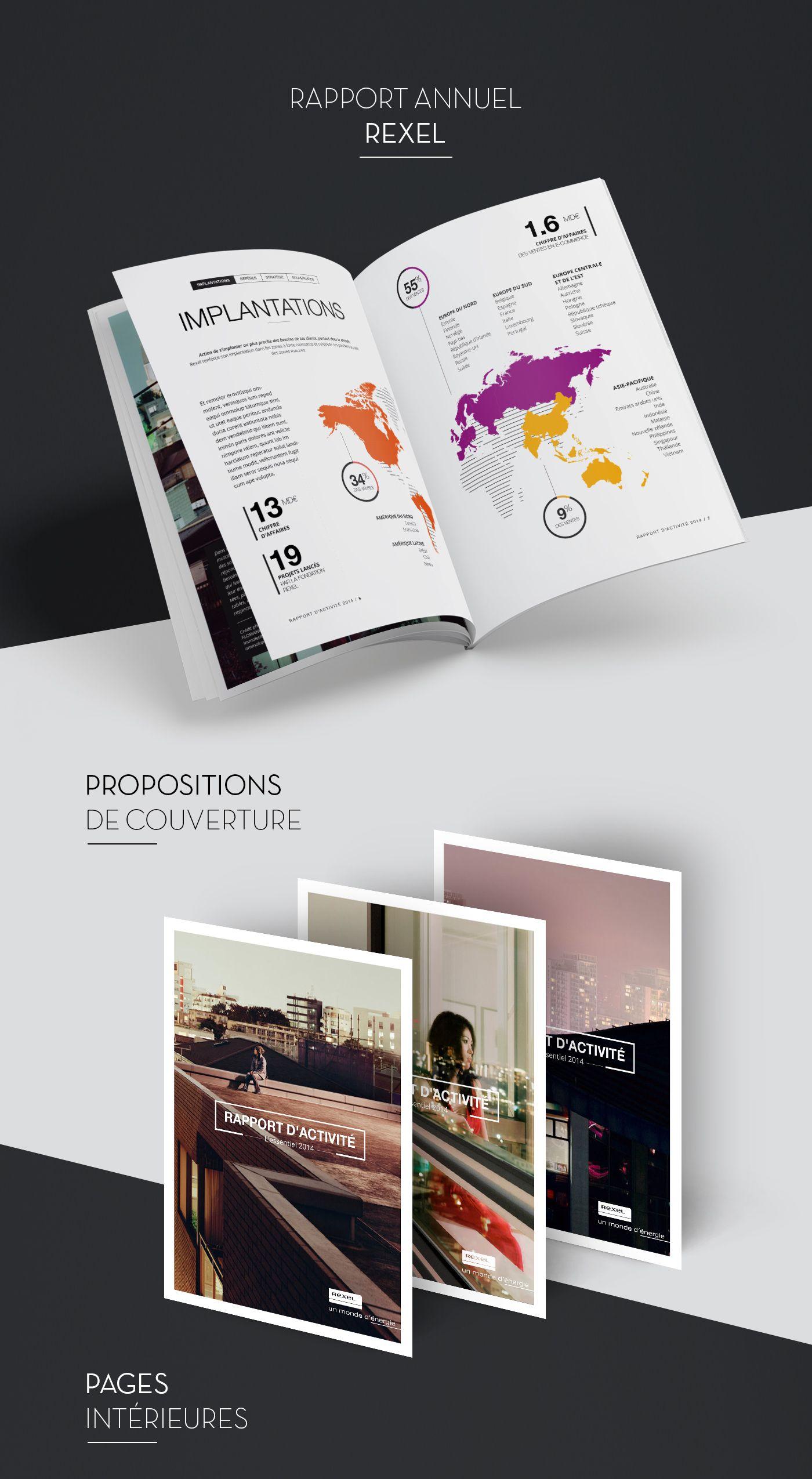 Rapport D Activité Et De Développement Durable 画册设计