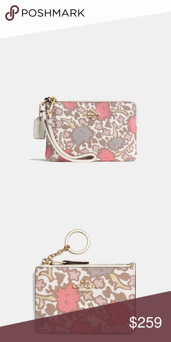 Spotted while shopping on Poshmark: NWT Coach RARE wristlet
