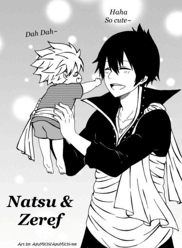 Natsu & Zeref by AyuMichi-me on DeviantArt | Fairy tail ...
