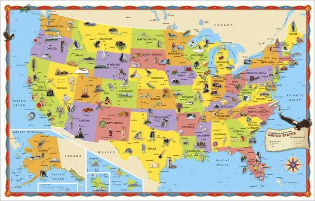 I Want To Buy An RV And Travel The Country Goals In Life - Us map buy
