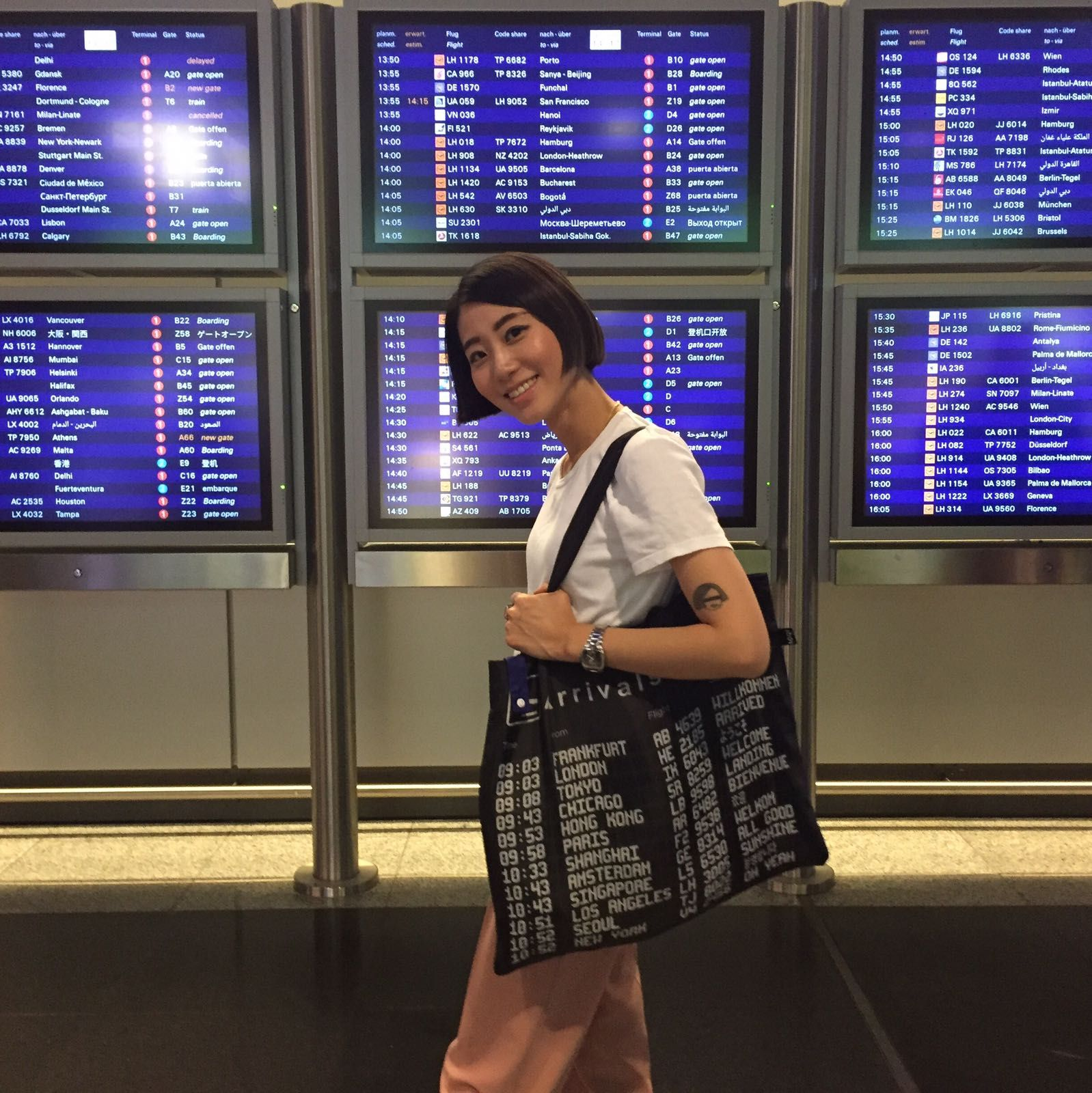 f139b2f2c99b AIRPORT Arrivals Bag | LOQI on the Streets | Bags, Carry on
