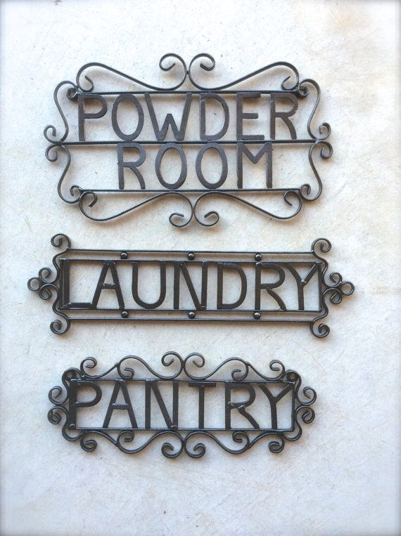 Hey, I Found This Really Awesome Etsy Listing At  Https://www.etsy.com/listing/205908575/powder Room Sign Metal Bathroom Sign