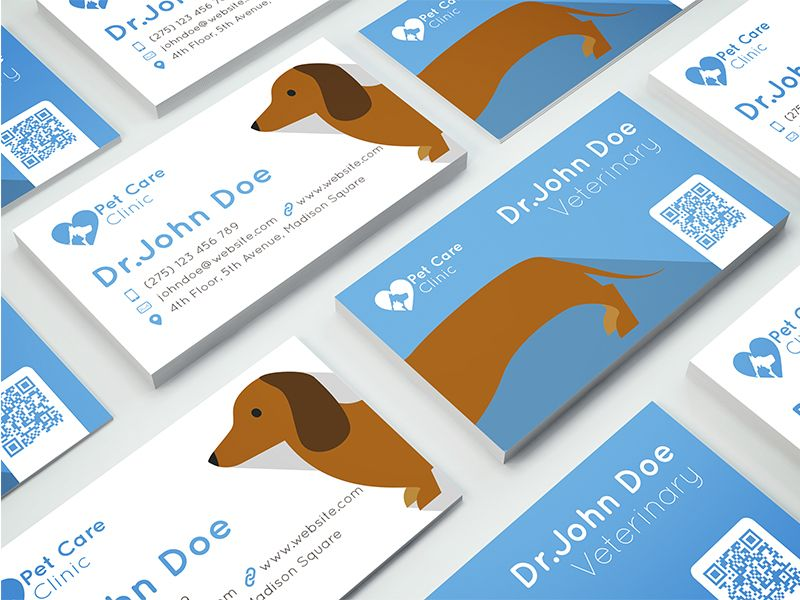 Veterinary Business Card | Business cards and Business