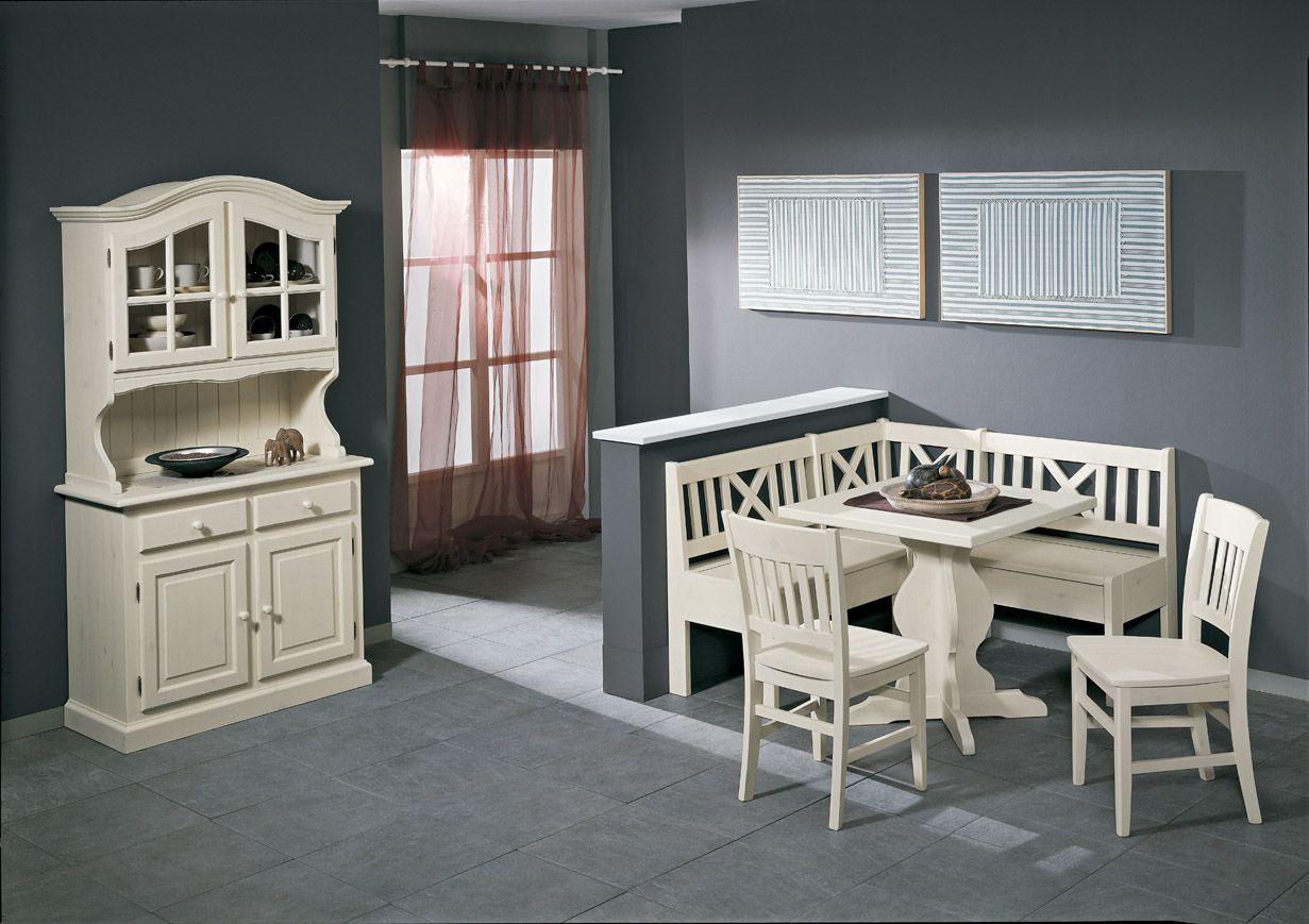 Credenza Con Sopralzo : Credenza ante con sopralzo tavolo quadrato sedie in pino