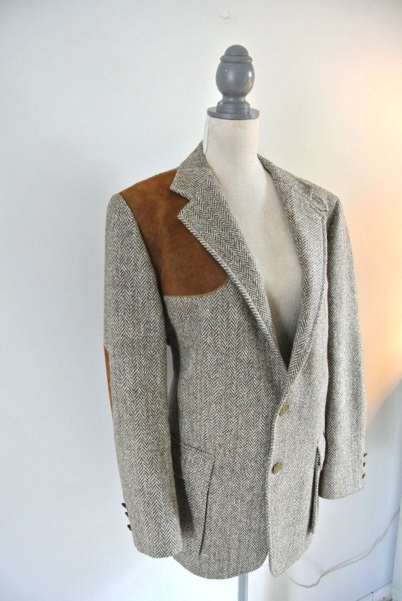 1950's Orvis harris tweed shooting jacket, Country gentleman ...