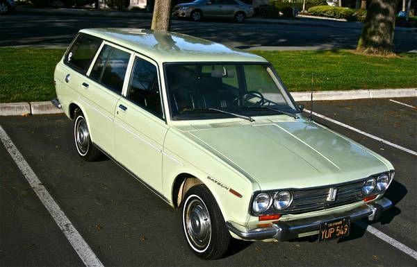 1969 Datsun 510 Wagon Datsun 510 Datsun Classic Cars