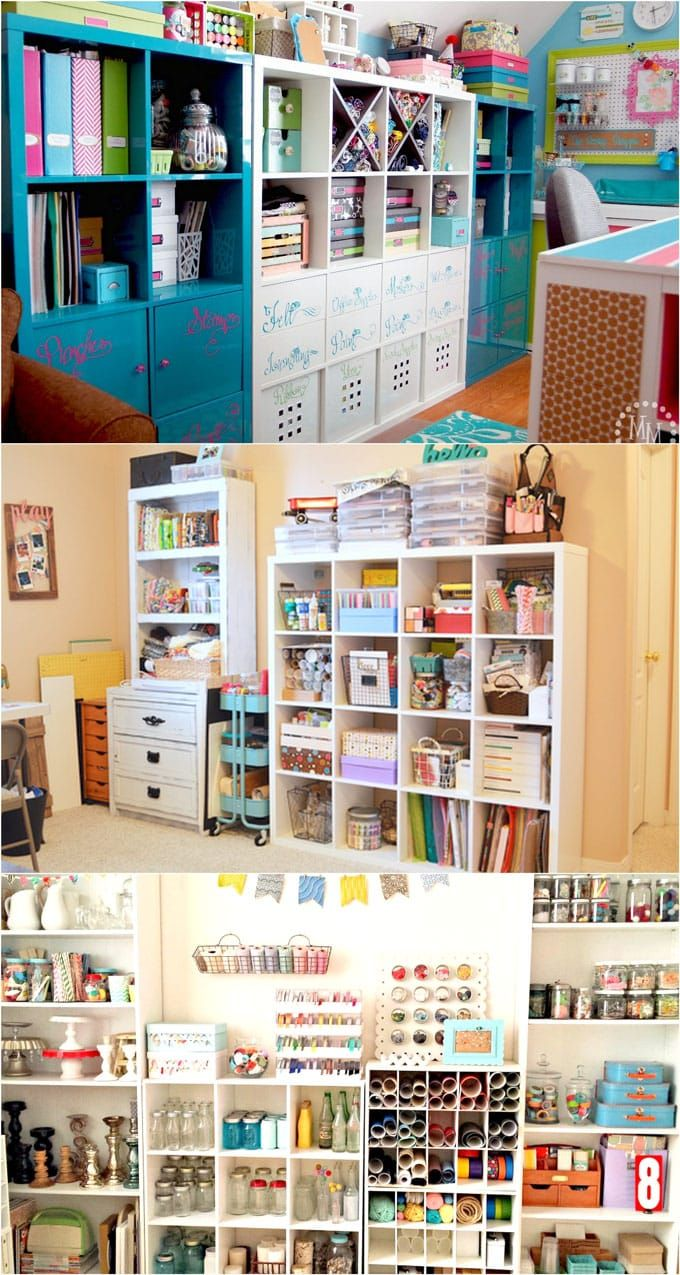 21 Inspiring Workshop and Craft Room Ideas for DIY Creatives images
