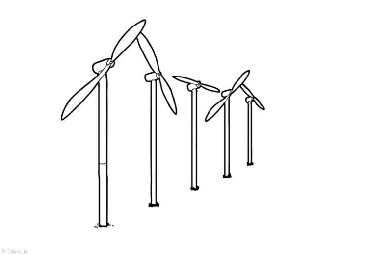 Resultado De Imagen Para Imagenes De Molinos De Viento Para Dibujar Energia Eolica Dibujos Para Colorear Molinos De Viento