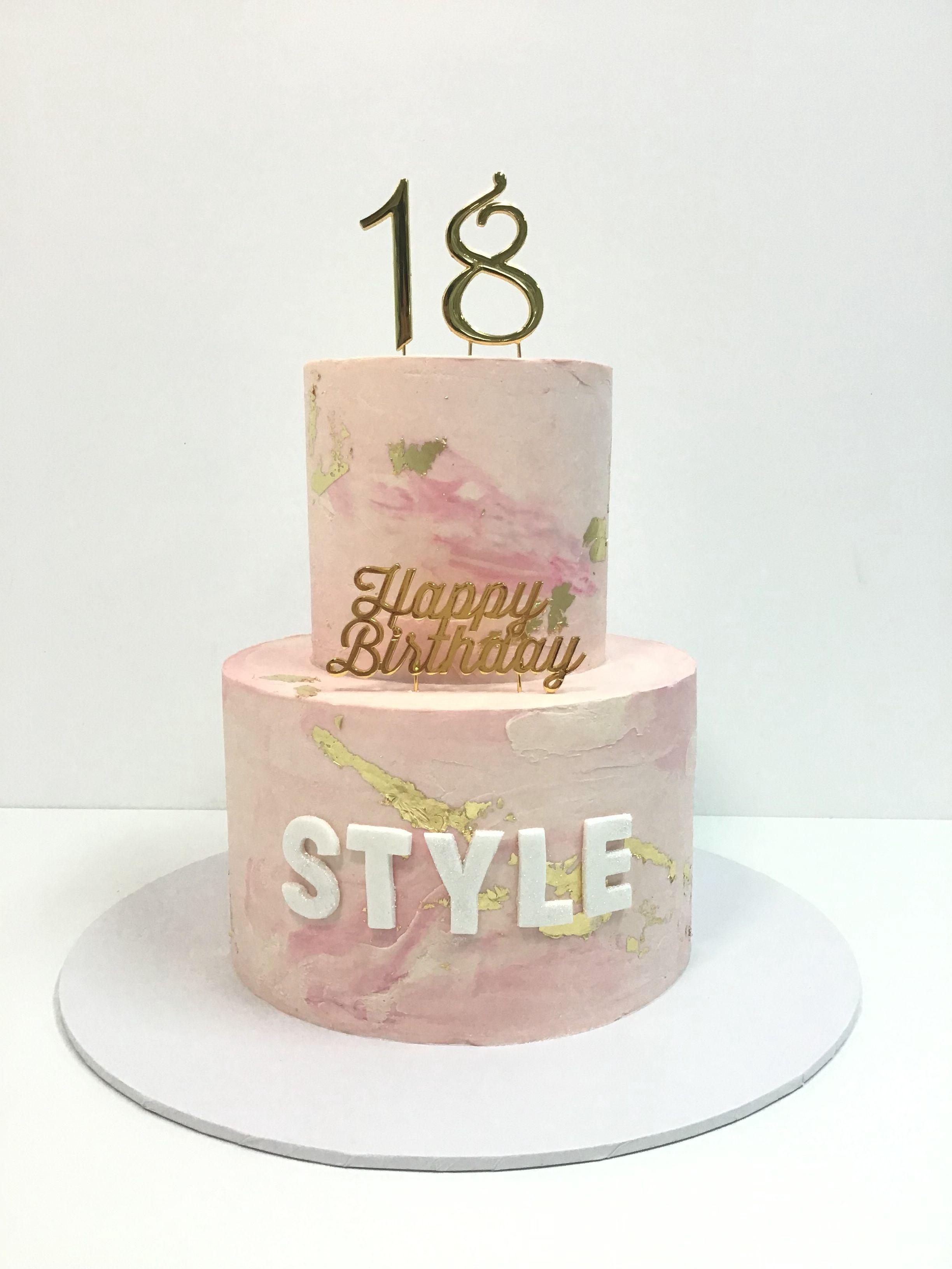 Happy 18th Cake, Celebration cakes, Birthday cake