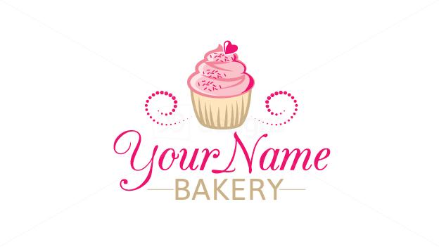 Beautiful Cupcake Logo