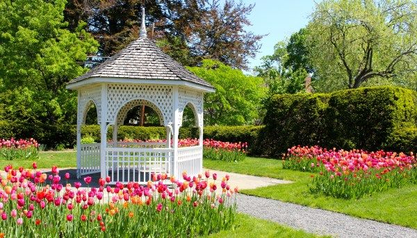 The Botanic Garden of Smith College - OMG reminds me of the gazebo ...