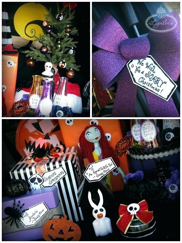 image result for nightmare before christmas decorating ideas - Nightmare Before Christmas Decorating Ideas