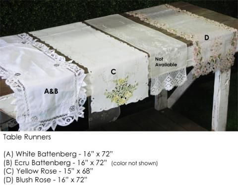 Table Runners | Town & Country Event Rentals