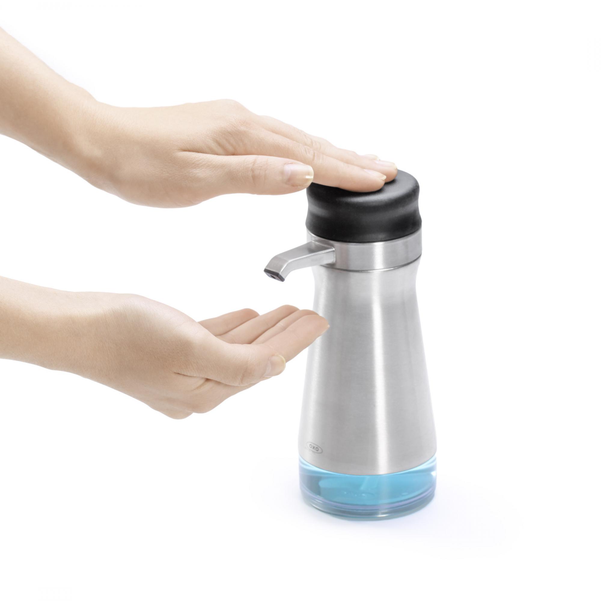 Oxo Bathroom Accessories Fluid Dispenser Big Button Good Grips Oxo Deco Salon