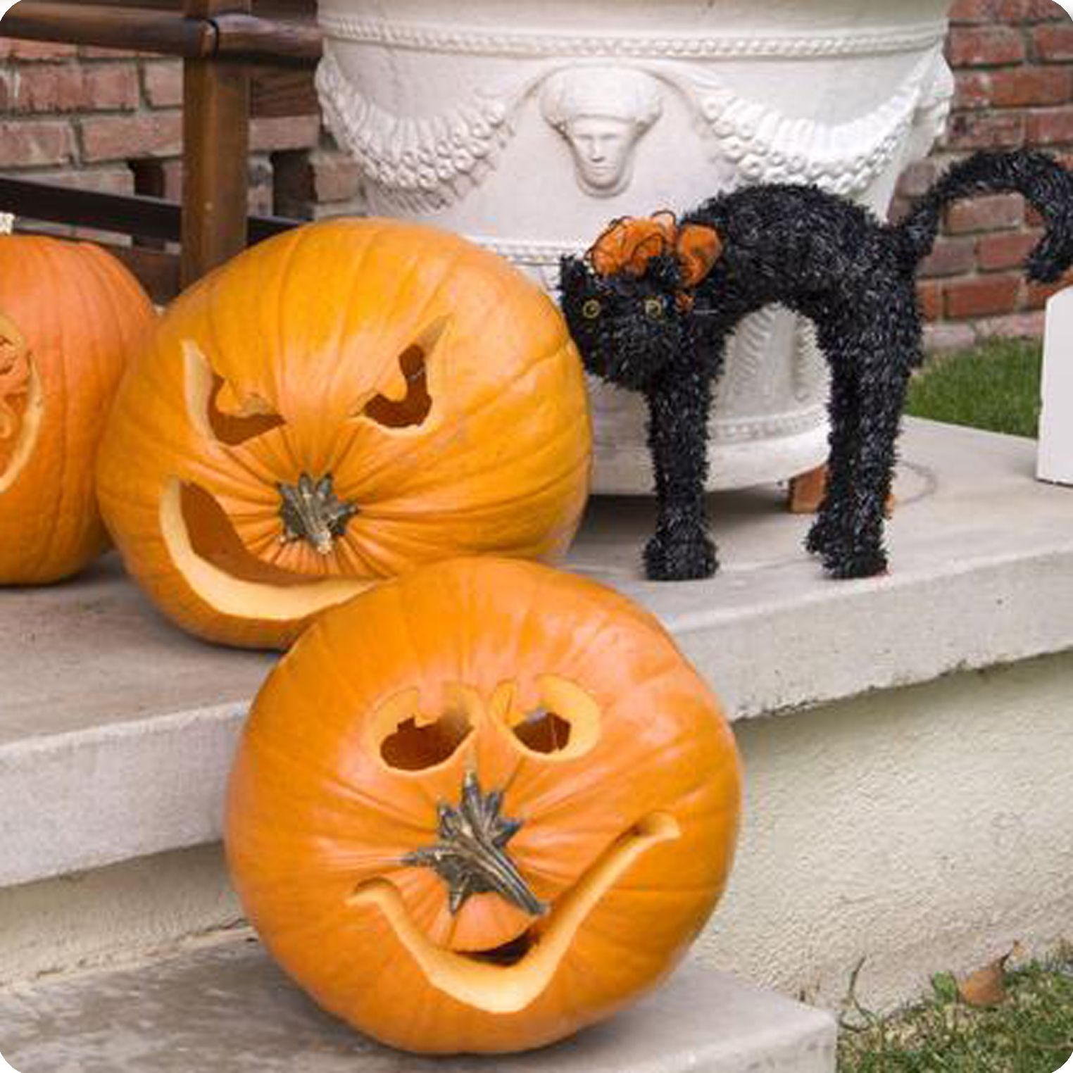 Pumpkins-with-stem-noses | HOuSE ITeMS | Pinterest | The o'jays ...
