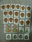 Vintage 80's 1984 Scholastic Stickers Lot Thanksgiving Fall Teachers School #Cra…, #80s #C…