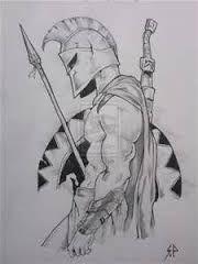 Resultado de imagem para pen and ink drawing warriors