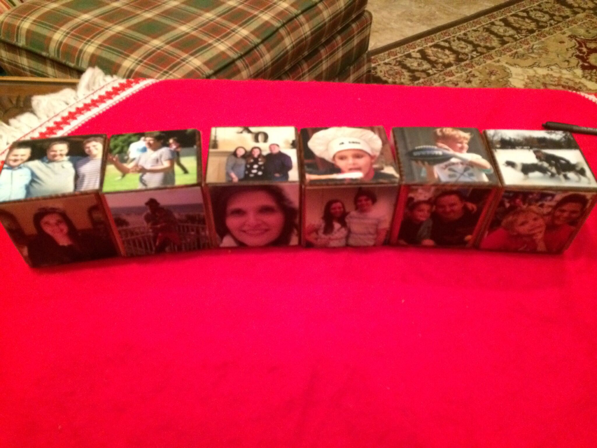 Another photo do the Photo Blocks for Christmas gift.