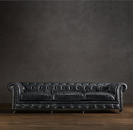Excellent Kensington Leather Sofa Leather Sofa Distressed Leather Caraccident5 Cool Chair Designs And Ideas Caraccident5Info