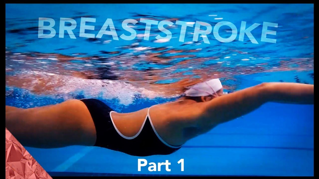 Breaststroke technique swimming tutorial arms part 1