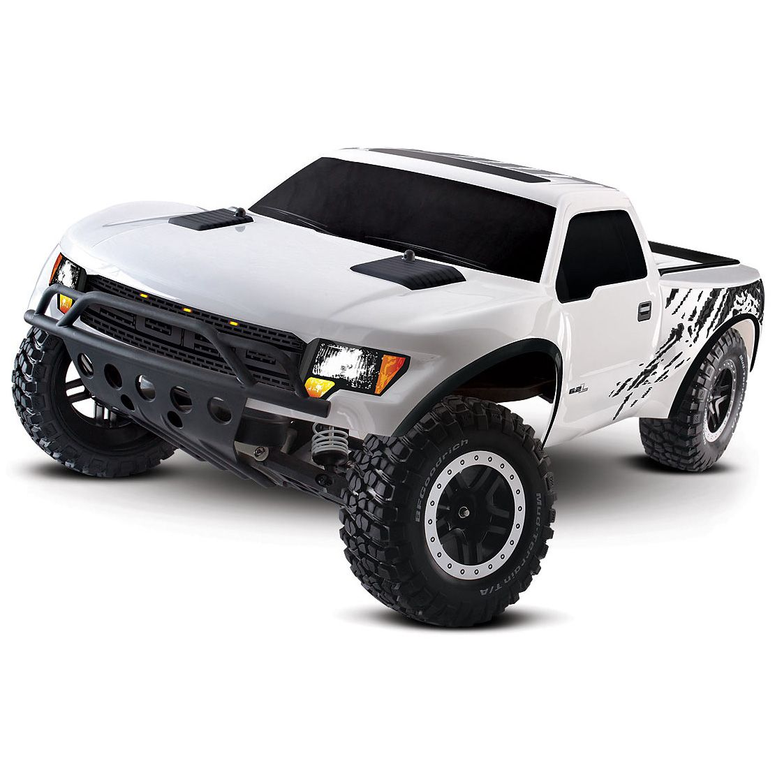Ford raptor remote control car white purpose built by the ford specialty vehicle
