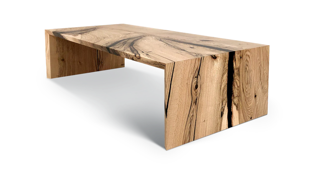 616 Oak Waterfall Coffee Table Coffee Table Coffee Table Square