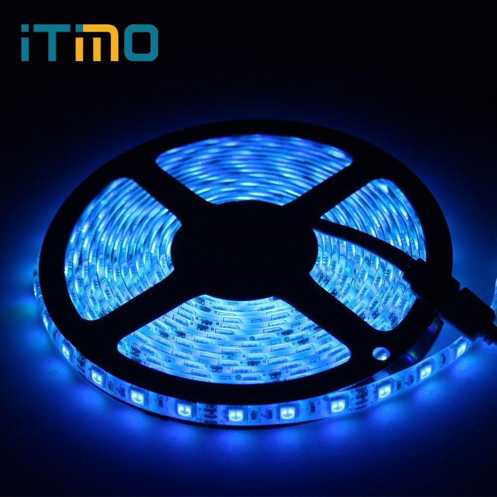 Led Beleuchtung 5 Mt 300led 24 Schlussel Ir Fernbedienung Zu Hause Dekoration Lampe Licht Bar Rgb Led Streifen Flexible Licht Gunstige Led Beleucht