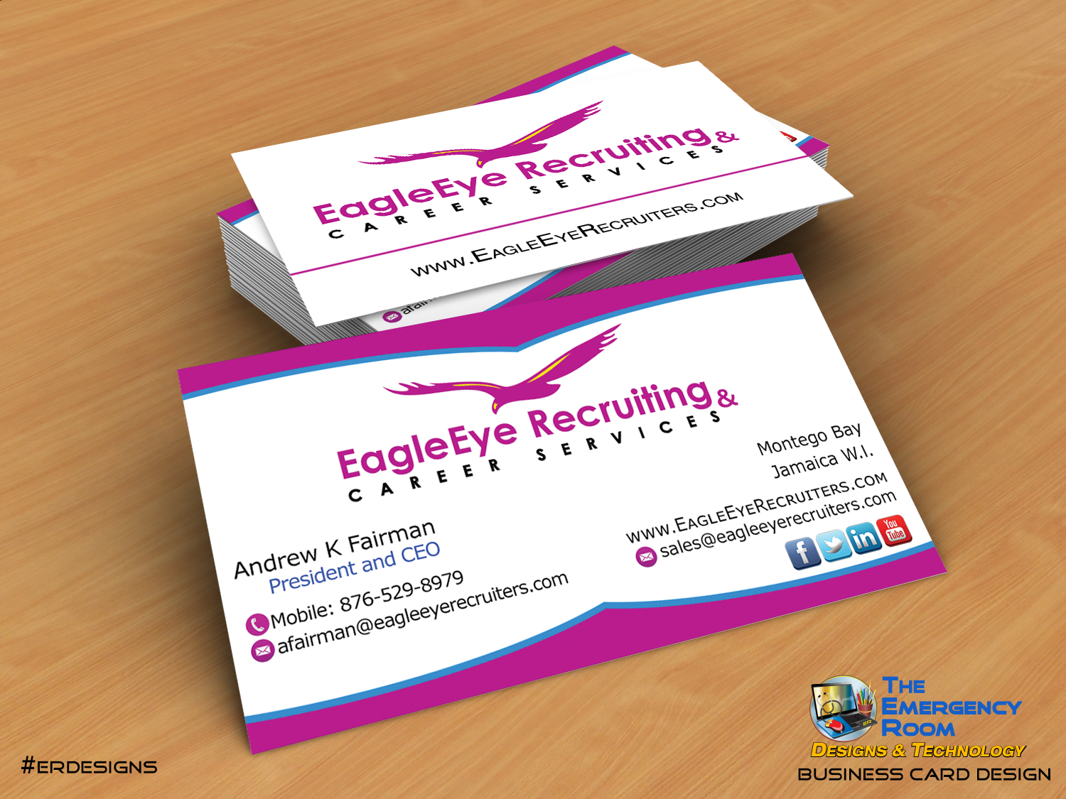 Business card design for id rather fall in chocolate erdesigns business card design for id rather fall in chocolate erdesigns designs business cards pinterest business cards magicingreecefo Gallery