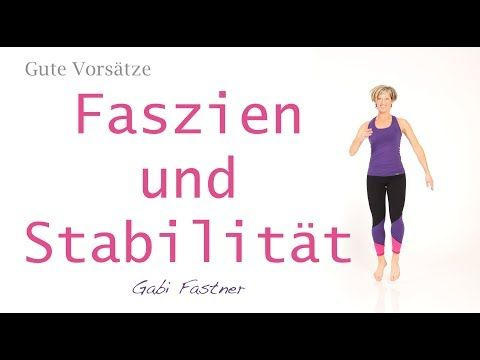 25 min. Faszien - Training ohne Hilfsmittel - YouTube #fitnessvideos