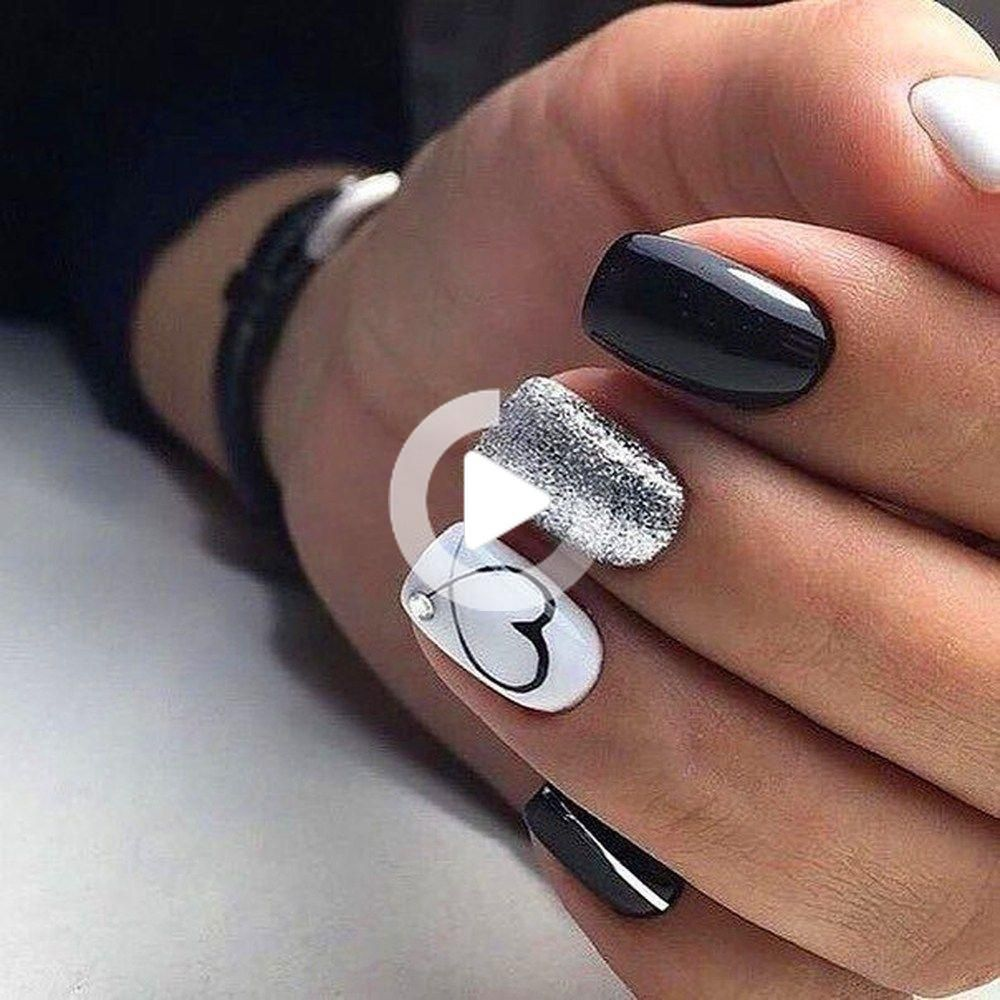 25 Cute Winter Nail Art Designs For Secretary In 2020 Short Nail Designs Short Acrylic Nails Simple Nails