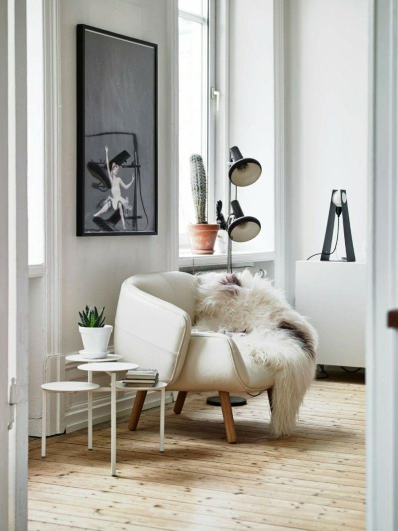 Skandinavische Möbel – 45 stilvolle und moderne Einrichtungsideen ...