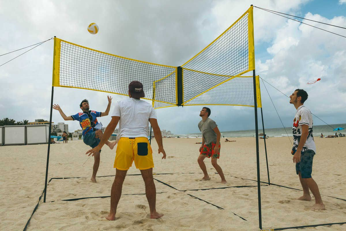 Cross Volleyball Net In 2020 Volleyball Net Volleyball Volleyball Games