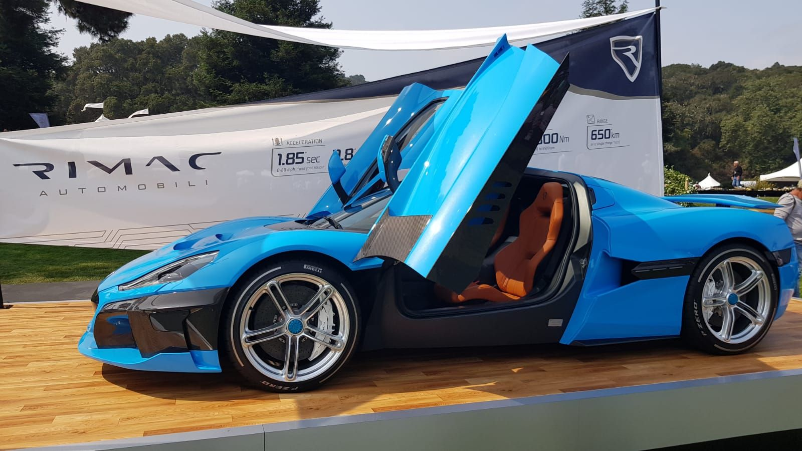 Rimac Concept 2 Fastest Electric Car At The Quail 0 60 In 1 8 Seconds